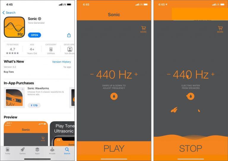 3 Лучшие способы слить воду из динамиков iPhone