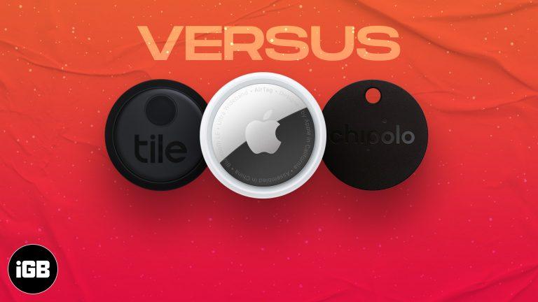 AirTag против Tile Mate против Chipolo One: что покупать?