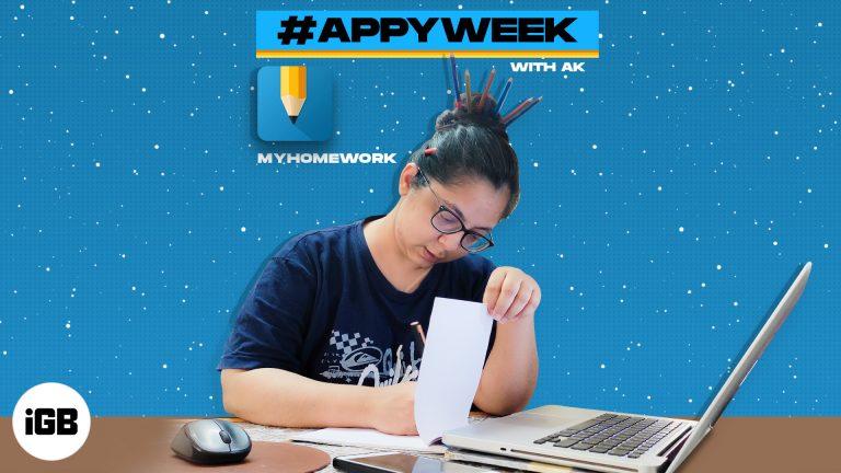#AppyWeek с AK: myHomework – единственный помощник для студентов, который вам понадобится?