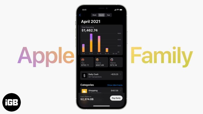 Семейство Apple Card: поделитесь своей Apple Card, чтобы улучшить кредитный рейтинг
