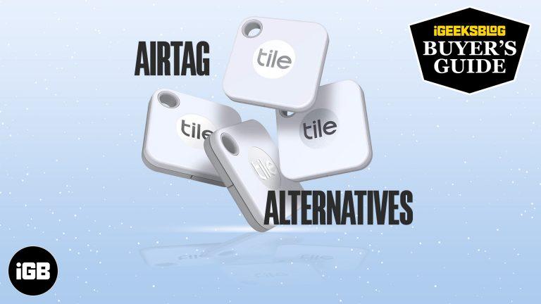 Лучшие альтернативы AirTag для iPhone и Android в 2021 году