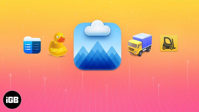 Лучшие FTP-клиенты для Mac в 2021 году