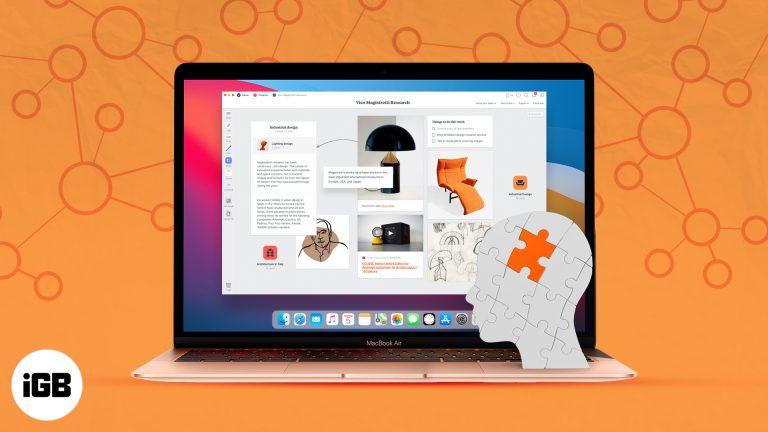 Лучшее программное обеспечение для отображения разума для Mac в 2021 году