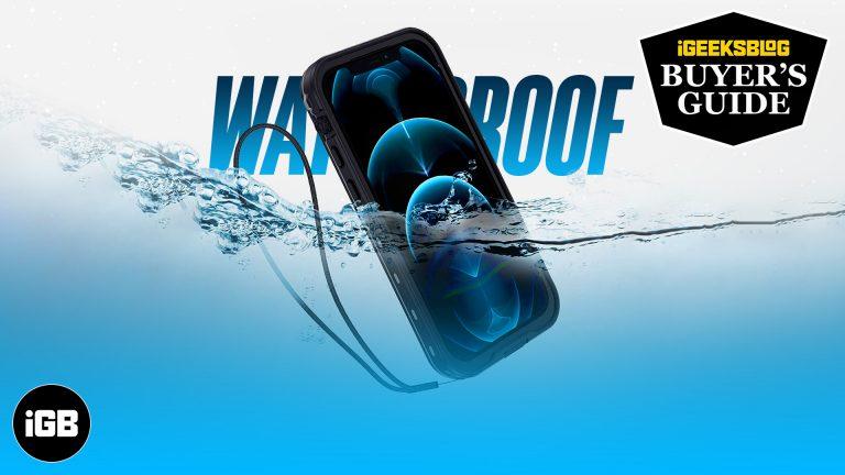 Лучшие водонепроницаемые чехлы для iPhone 12 и 12 Pro (2021 г.)