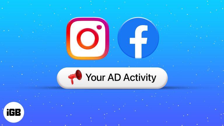 Как найти недавно просмотренную рекламу в Facebook и Instagram