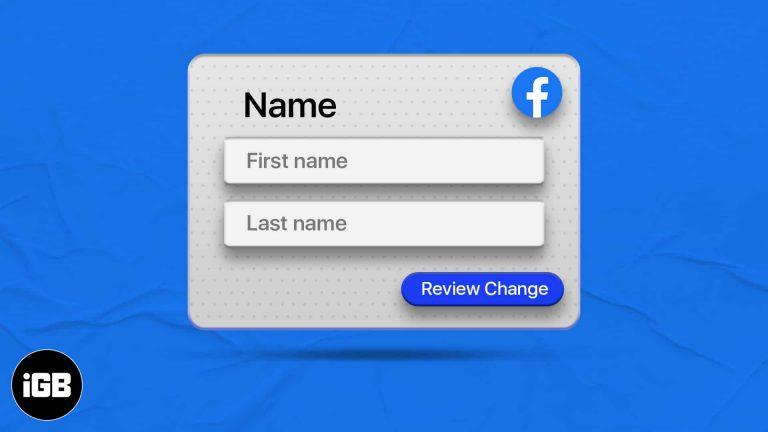 Как сменить имя в Facebook в 2021 году