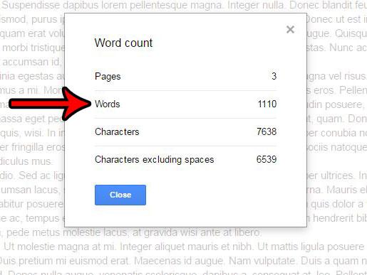 Как подсчитать количество слов в документе в Google Документах
