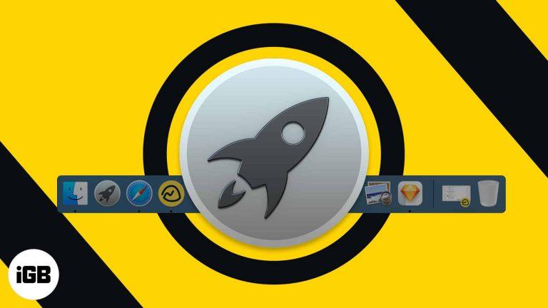Как установить Launchpad на Mac Dock (всего за 3 быстрых шага)