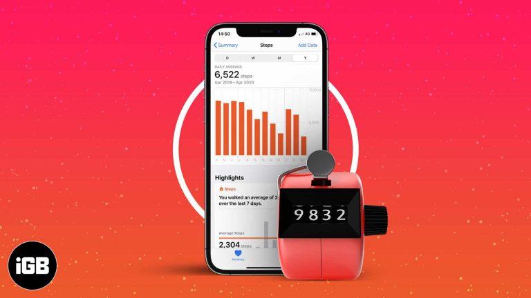 Как отслеживать шаги с помощью приложения iPhone Health
