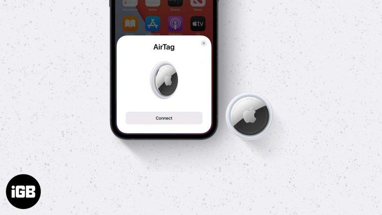 Как использовать AirTag для поиска ключей, кошелька и других вещей