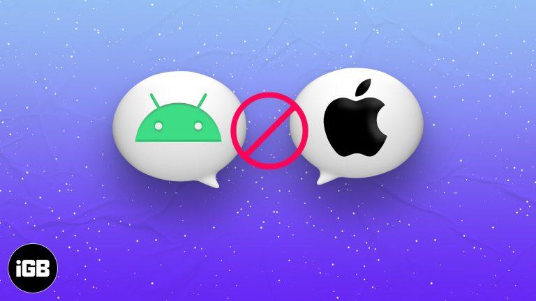 iPhone не получает текстовые сообщения от Android?  9 Возможные исправления