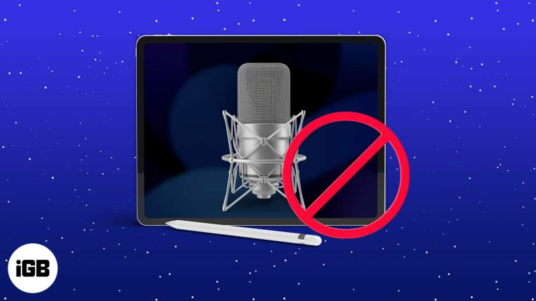 Микрофон iPad не работает?  Попробуйте эти 7 исправлений!