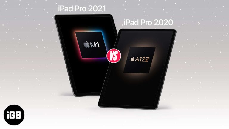 iPad Pro 2021 против iPad Pro 2020: что лучше?