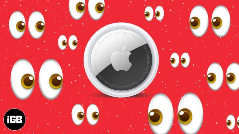 Функция защиты от преследования Apple AirTags: действительно ли она работает?