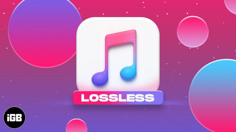 Потоковая передача Apple Music Lossless: как воспроизводить HiFi Audio на iPhone