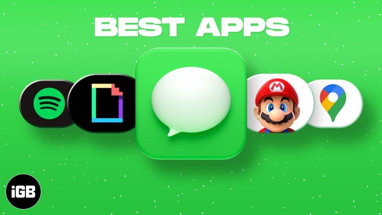 Лучшие приложения iMessage для iPhone в 2021 году (больше, чем просто чат)