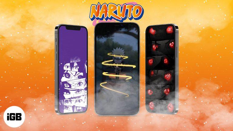 10 крутых обоев Наруто (HD) для iPhone: скачать бесплатно
