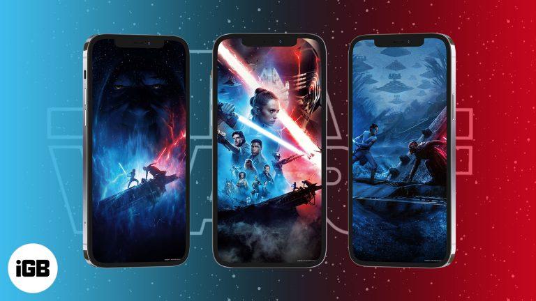 Скачать бесплатно обои для iPhone 4K Star Wars