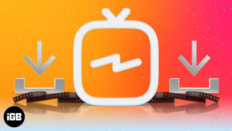 Как скачать видео IGTV на iPhone и Android в 2021 году