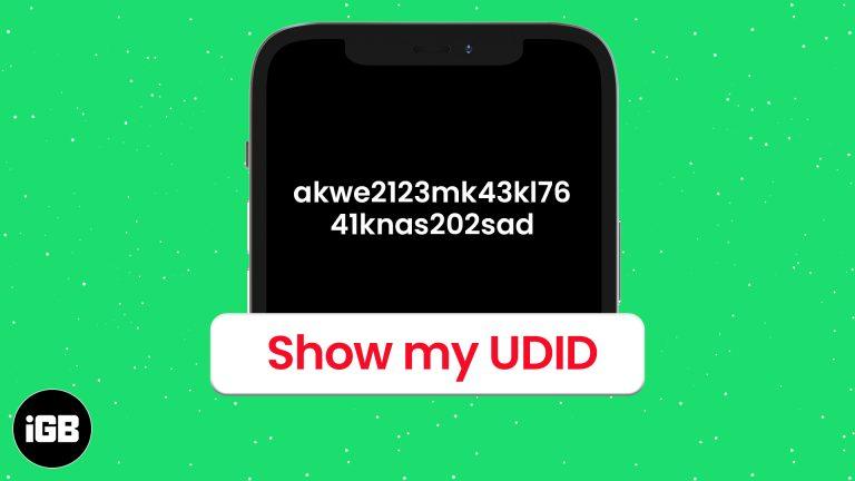 Как найти UDID iPhone и iPad (3 способа объяснения)