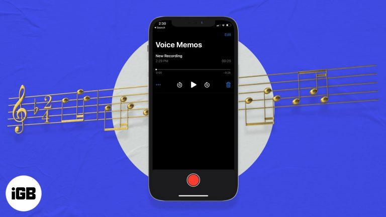 Как превратить голосовую заметку в рингтон iPhone