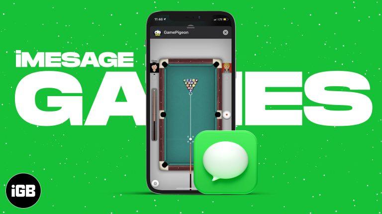 Как играть в игры iMessage на iPhone (2021 г.)