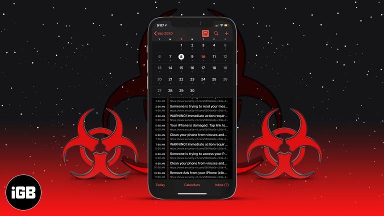 Как удалить вирус календаря iPhone (Советы по борьбе со спамом)