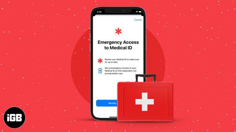 Как настроить идентификатор экстренной медицинской помощи на iPhone и Apple Watch