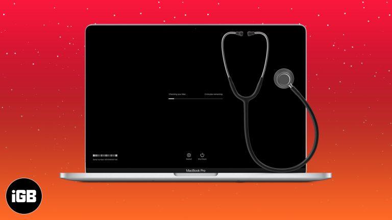 Как использовать Apple Diagnostics для выявления проблем с оборудованием Mac