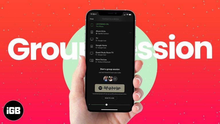 Как использовать Spotify Group Session для потоковой передачи с вашим отрядом