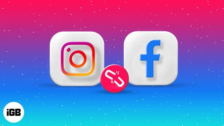 Instagram не публикует и не публикует в Facebook?  4 простых решения (2021 г.)