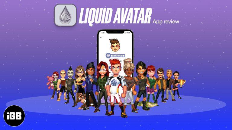 Обзор приложения Liquid Avatar для iOS: создавайте аватары и защищайте свои данные