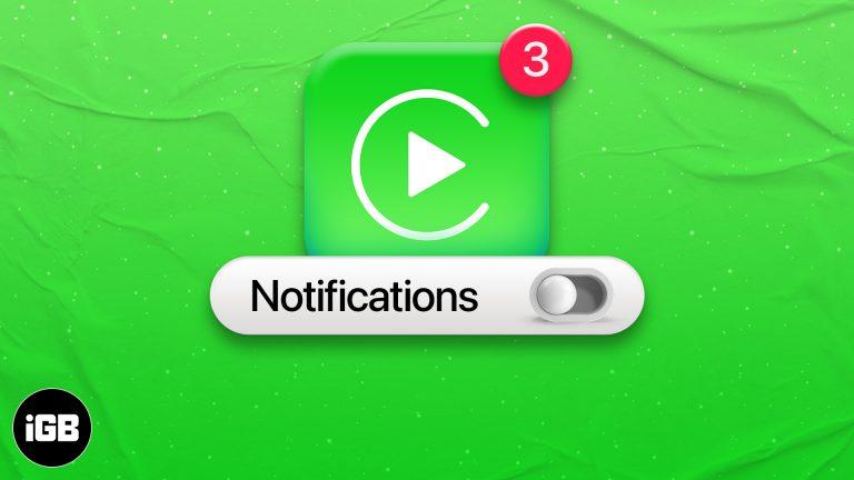Как отключить уведомления приложений в Apple CarPlay