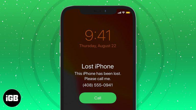 Что делать, если ваш iPhone утерян или украден?  (9 вещей, которым нужно следовать)