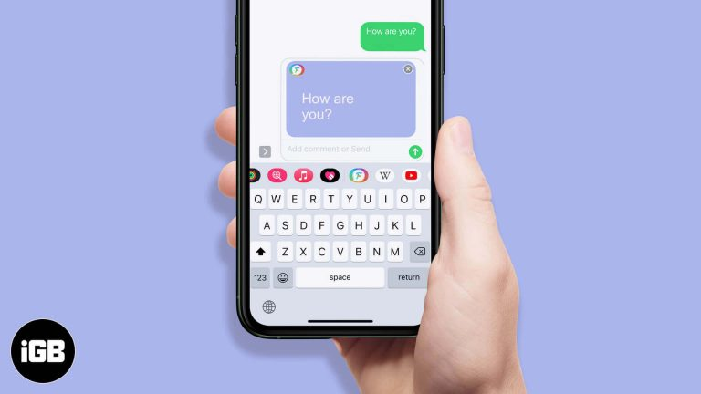 Как изменить цвет пузыря iMessage на iPhone и iPad