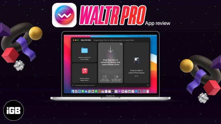 WALTR PRO для Mac и Windows: конвертируйте и передавайте любые файлы на iPhone, iPad