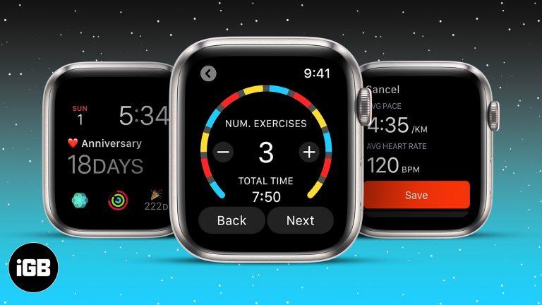 Лучшие таймеры для Apple Watch в 2021 году: каждая секунда на счету