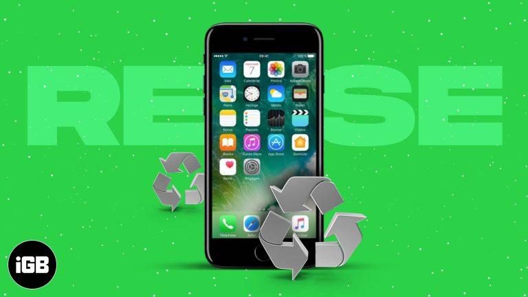 10 лучших способов повторно использовать свой старый iPhone в 2021 году