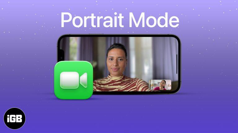 Как размыть фон в видеозвонках FaceTime в iOS 15