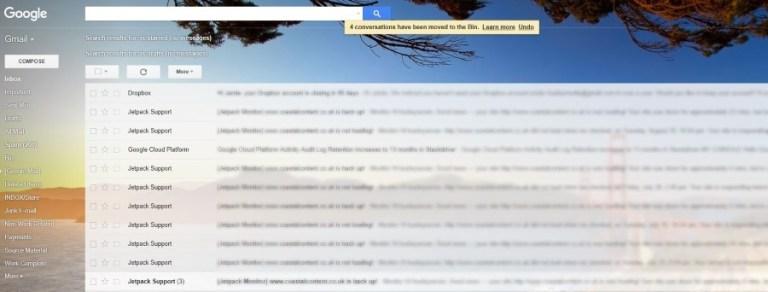 Как изменить фон Gmail и другие хитрости