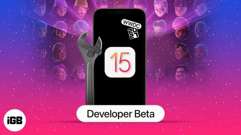 Как скачать бета-версию iOS 15 для разработчиков на iPhone