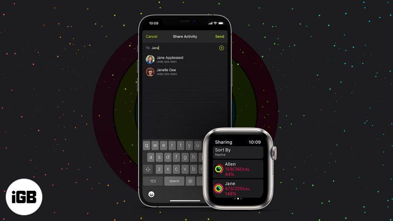 Как поделиться данными о своей активности с Apple Watch и iPhone