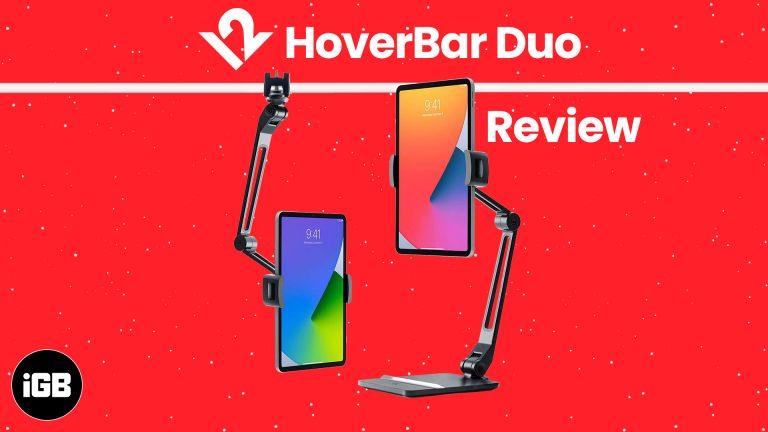 Обзор Twelve South HoverBar Duo: обновленная подставка для iPad
