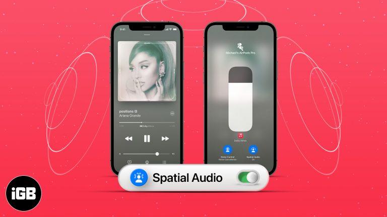 Как включить пространственный звук с Dolby Atmos в Apple Music