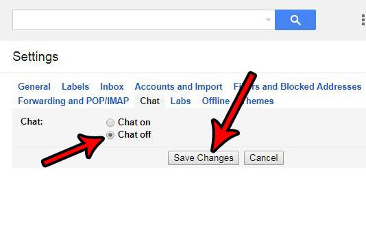 Как удалить чат из Gmail
