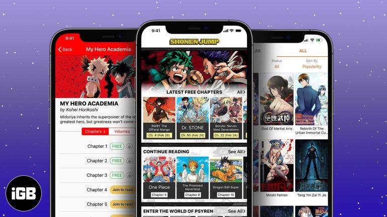 Лучшие приложения для чтения манги для iPhone и iPad в 2021 году