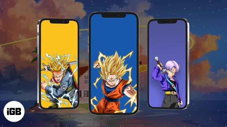 Скачать обои Dragon Ball Z для iPhone в 2021 году