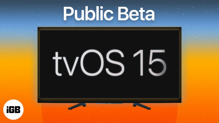 Как скачать публичную бета-версию tvOS 15 на Apple TV