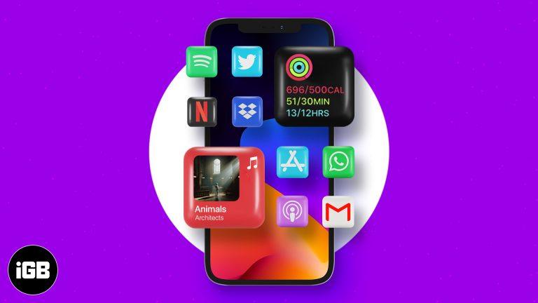 Как изменить значки приложений на главном экране iPhone