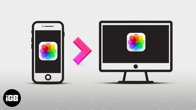 Как перенести фотографии с iPhone на компьютер (Mac и ПК с Windows)